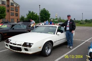 The Berlinetta and I following the 2004 Ontario Camaro Nationals awards ceremony